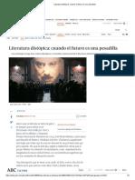 Literatura Distópica_ Cuando El Futuro Es Una Pesadilla