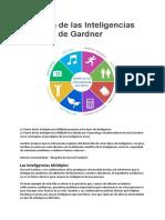La Teoría de las Inteligencias Múltiples de Gardner