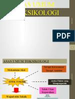 Asas Umum Toksikologipptx