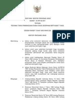 permenpu05-2007 pedoman teknis pembangunan rusun sederhana bertingkat tinggi
