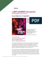 Saint Laurent Rive Gauche exhibition