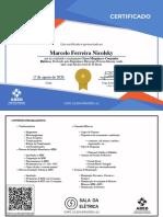 Curso Máquinas e Comandos Elétricos-Certificado de Conclusão 11746