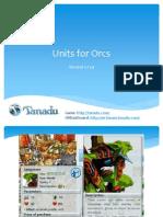 Units for Orcs 1.21.4