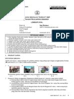 Soal US Seni Budaya SMP K13 (Websiteedukasi.com)