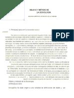 GURVITCH - TRATADO DE SOCIOLOGÍA - Cap 1