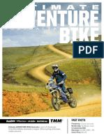 Ultimate Adventure Bike Magazine Media Kit 2020
