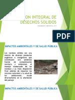 Gestion Integral de Desechos Solidos