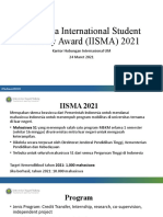 Indonesia International Student Mobility Award 2021 Oia