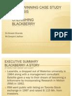 Blackberry Case Study Analysis