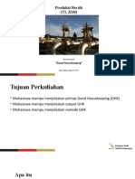 11. Produksi Bersih - Good Housekeeping