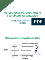 5 METODOS, OBJETO Y EL TEMA DE INVESTIGACION