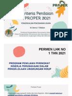 Kriteria Proper Ppu (Maret 2021)