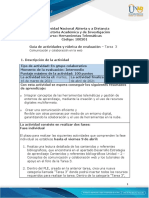 Guia de actividades y rubrica de evaluacion Tarea 3 Comunicación y colaboración en la web
