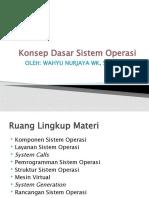 Konsep Dasar Sistem Operasi