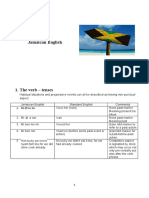 Jamaican English handout