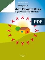Guia Cuidador Domiciliar Hiv