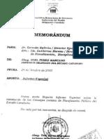 Informe Defensor Carabobo al Defensor General 24-10-02 sobre Clpp Puerto Cabello