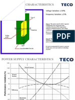 Technical Notes on Voltage and frequency Variation teco