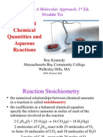 Chapter04 Chemical Quantities and Acqueuos Reactions