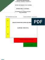 Enquête permanente auprès des ménages 1997 (INSTAT/1999)