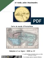 La cartographie antique