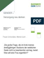 Gender - Versorgung neu denken