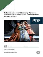 Porpora_Orfeo_Festival della Valle d'Itria 2. August 2019 - Klassik begeistert_Leon Battran