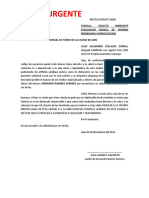 SOLICITO INMEDIATA EVALUACION MEDICA DE INTERNO (PROBLEMAS CARDIOLOGICOS)