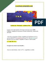 Ecriture comptable de declaration TVA pdf