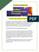 ecriture de facture non parvenue pdf