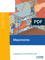 Bat Maçonneries en Application Des Normes NF DTU 20.1 Et 20.13