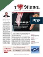 Tiroler Stimmen, Ausgabe 1-2021