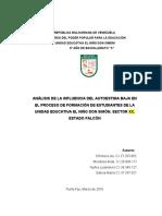 Proyecto Ue Niño Don Simon 13-03-2016