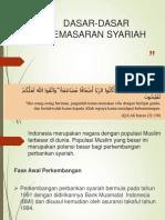 Dasar-Dasar Pemasaran Syariah