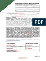 5 GFPI-F-129 Formato Tratamiento de Datos Menor de Edad