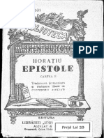 Horatiu, Epistole, Cartea 2 [Tr. Juxtaliniară Și Tr. Liberă de Profesorii Asociați]