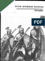 Marcus Annaeus Lucanus, Pharsalia [tr. Dumitru T. Burtea] [1991]