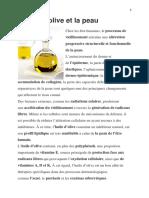 bienfaits de l'huile d'olive