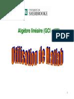 UtilisationMathlab
