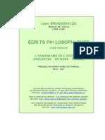 Brunschvicg_ecrits_philo_t1