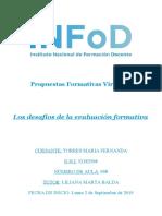 Los desafios de la evaluación formativa- clases