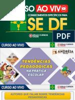 Aula 1 - Tendências Pedagógicas na Prática Escolar (Slide)