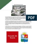 Historia Departamento de Sucre