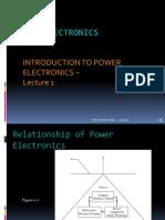 Intro to Power Electronics- Lec-1