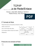 TCP_IP Camada de Rede_Enlace