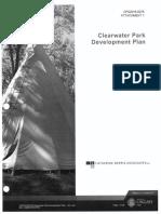 Clearwater Park Development Plan