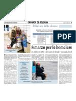 """05.03.11linformazione """"L'8 marzo per le homeless"""""""