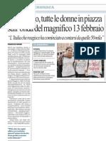 """05.03.11repubblica """"Avvocato di strada in piazza per l'8 marzo"""