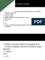 Clase 3   definir una variable compleja