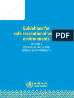 OMS Guidelines for safe recreational water environments (volume 2)